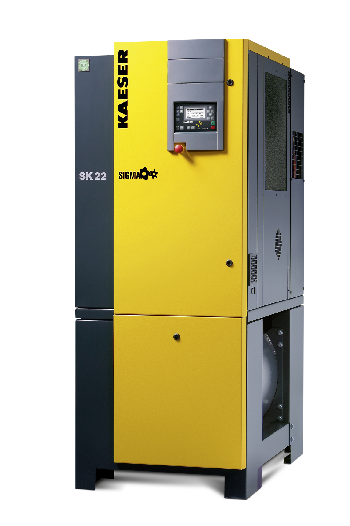 Kaeser Presents The Sk Rotary Screw Compressor Series