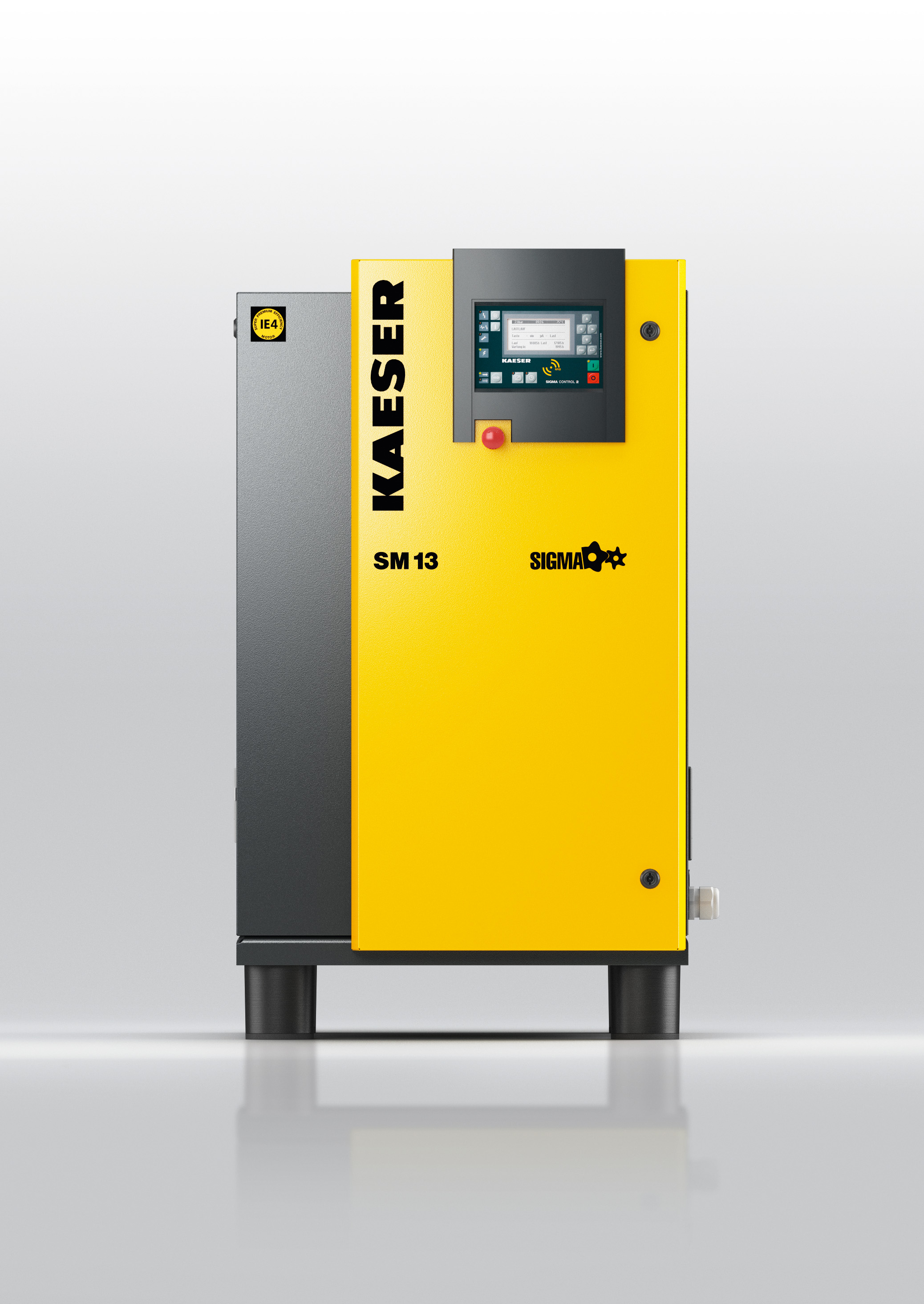SM series rotary screw compressors are powerful, quiet, efficient and  exceptionally service-friendly. In addition to the standard models,  versions featuring ...