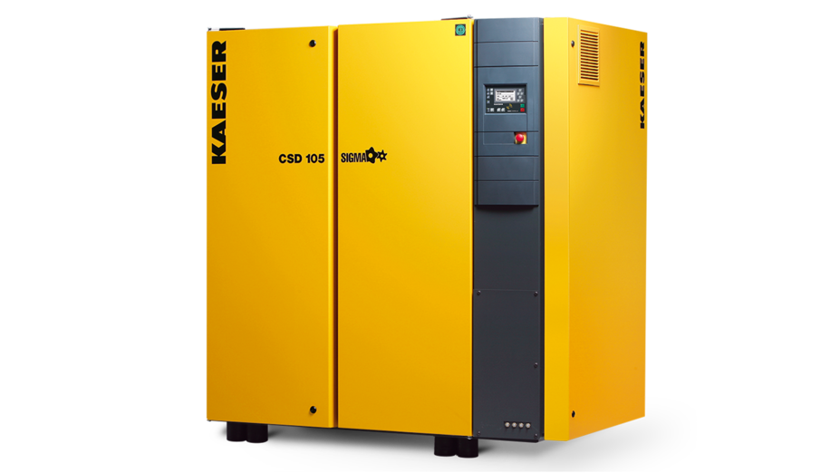 Rotary screw compressors with 1:1 direct drive – KAESER