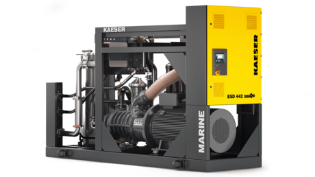 ESD series marine rotary screw compressors from Kaeser Kompressoren.