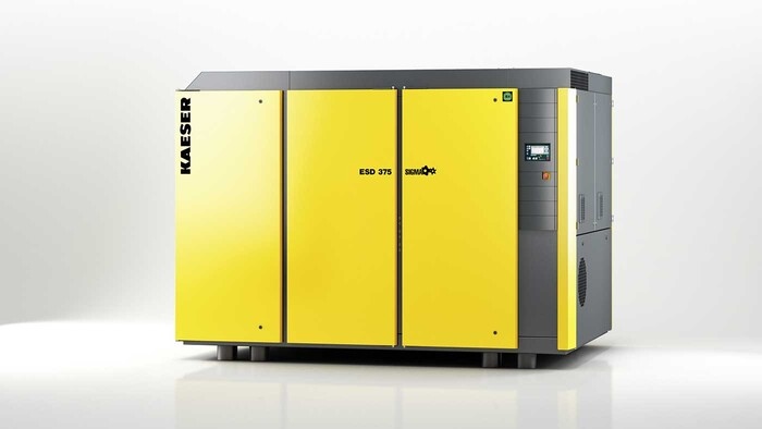 ESD rotary screw compressor