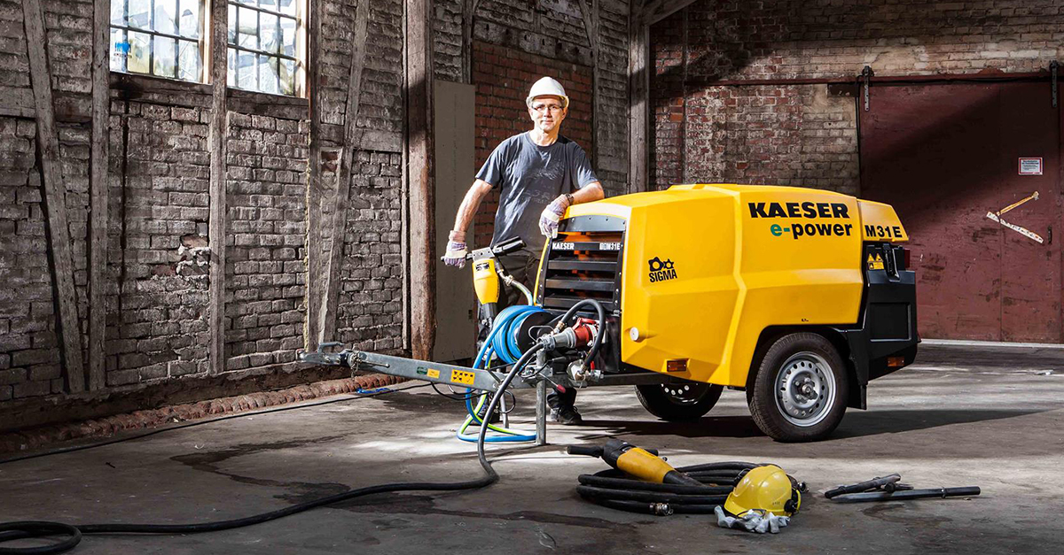 The compressed air specialist - KAESER KOMPRESSOREN