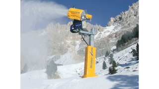 KAESER industrial reciprocating compressors for winter sport applications.